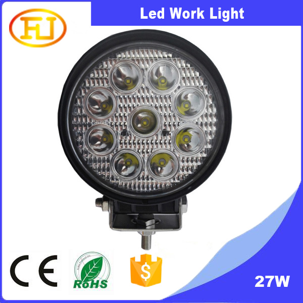 flood light led circular explosion-proof 27w LED to shoot the light car searchlight
