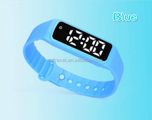 Latest smart wristband 3d pedometer calorie/distance counter bodybuilding bracelet