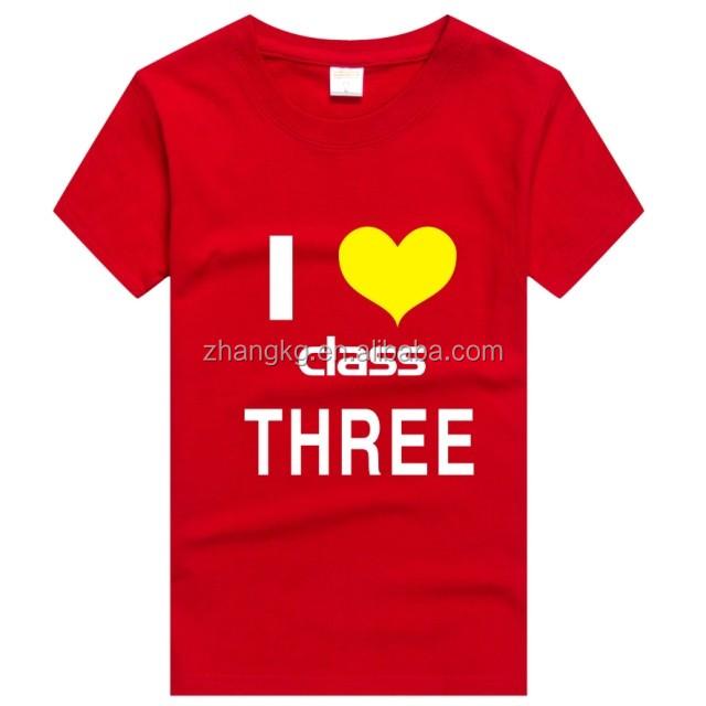 Mooie meisjes t-shirts, goedkope op maat katoenen t-shirts, kinderkleding meisjes t-shirt 180g