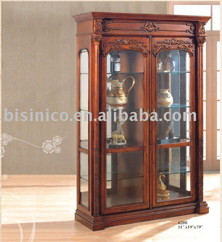 Antique Reproduction Wine Cabinet,Solid Wood Wine Cabinet,Glass Wine Cabinet  - Buy Antique Wine Cabinet,Glass Wine Cabinet,Reproduction Wine Cabinet  Product ... - Antique Reproduction Wine Cabinet,Solid Wood Wine Cabinet,Glass Wine