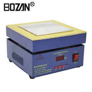 BOZAN 946-1515 150*150mm High performance reengineering rework smd heating work preheating station with cheaper price