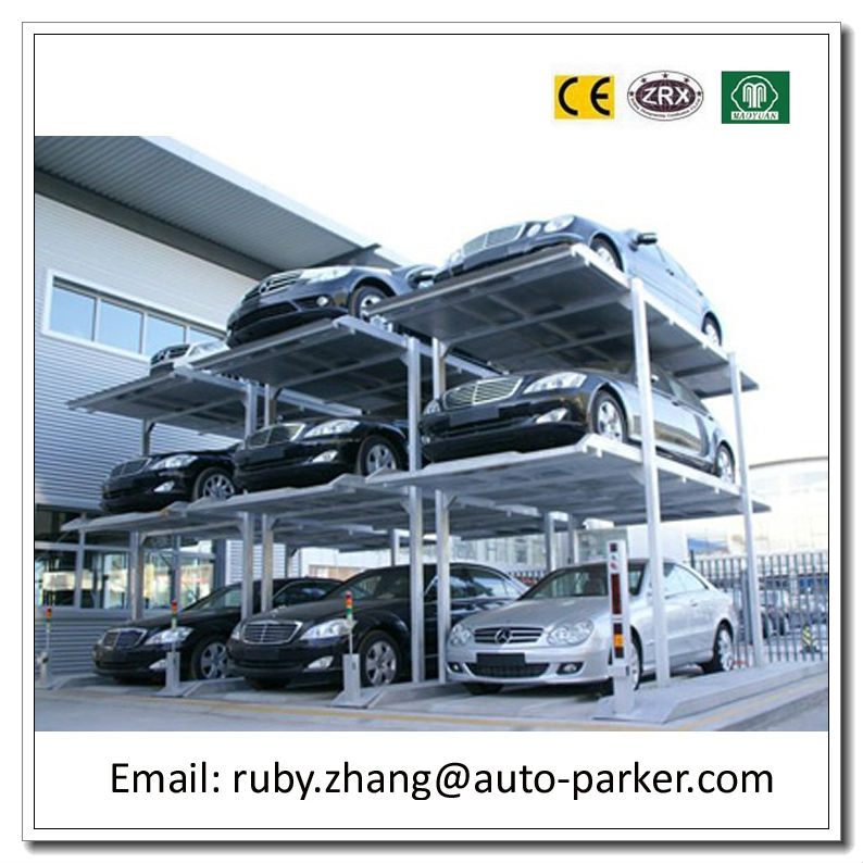 Double And Triple Deck Parking 2 3 Layer Stacker Multi Level Car System Automobiles Park Lift For Cars
