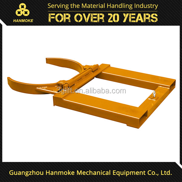Guangzhou Forklift Attachment Oil Drum Clamps for 55 gallons