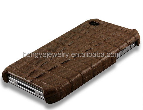 Factory direct sale Phone 5/5s Crocodile tail mobile phone case Leather holster