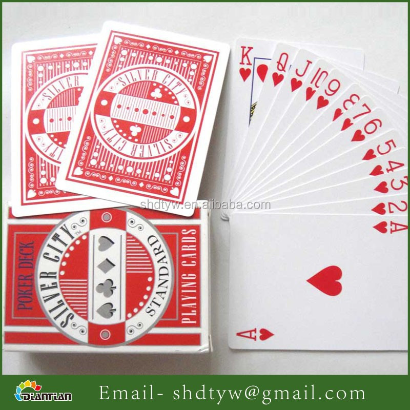custom large size playing cards