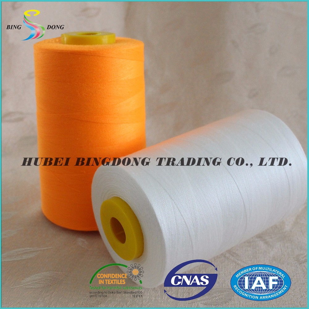 spun spool 100 polyester 20/2 20/3 sewing thread
