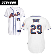 Supply Wereld Klassieke Jersey Honkbal Custom Subliamted/Borduren/Tackle <span class=keywords><strong>Twill</strong></span> Baseball Jersey