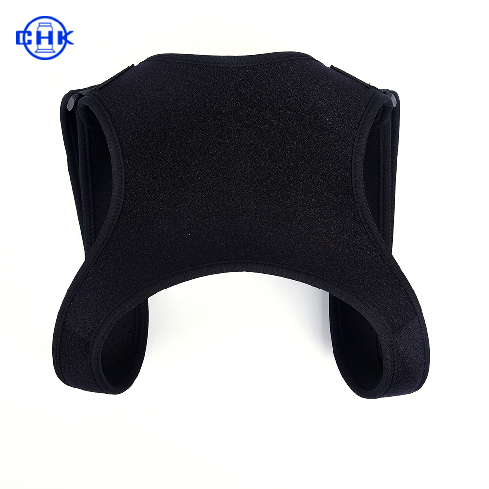 Unisex Effective Posture Corrector Adjustable Shoulder Back Brace Belt with Customized Logo, Customized color