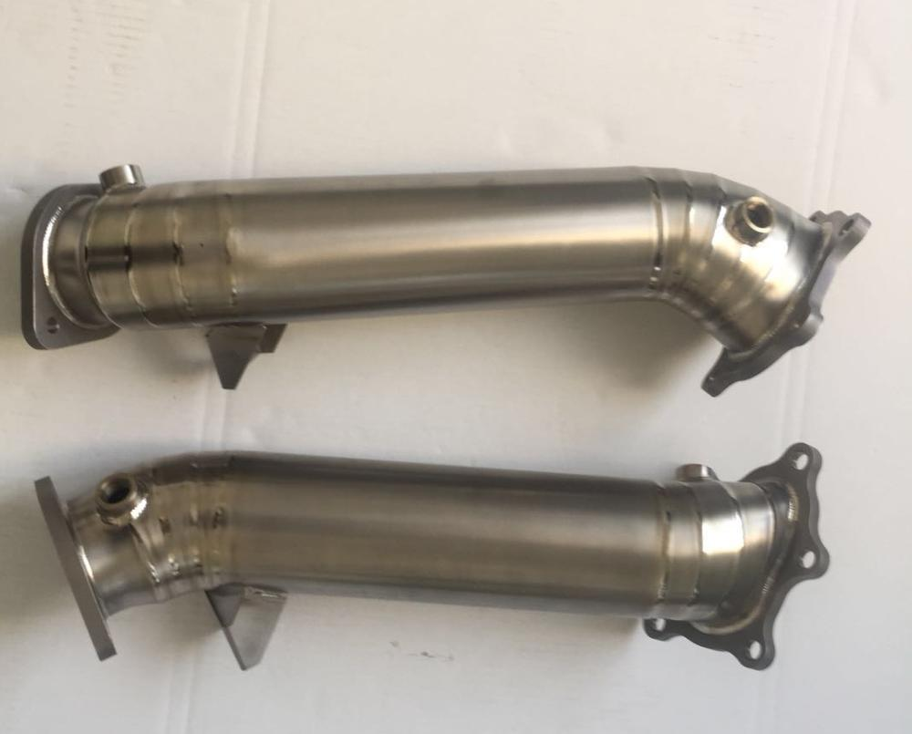 89mm titaium alloy exhaust downpipe for nissa*n downpipe
