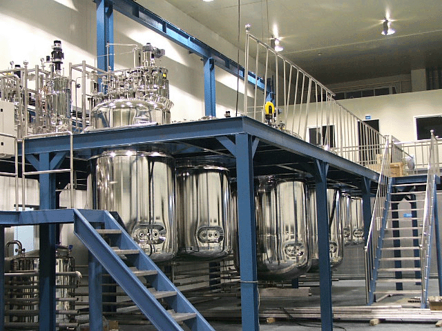 yeast production line,  yeast fermentation equipment