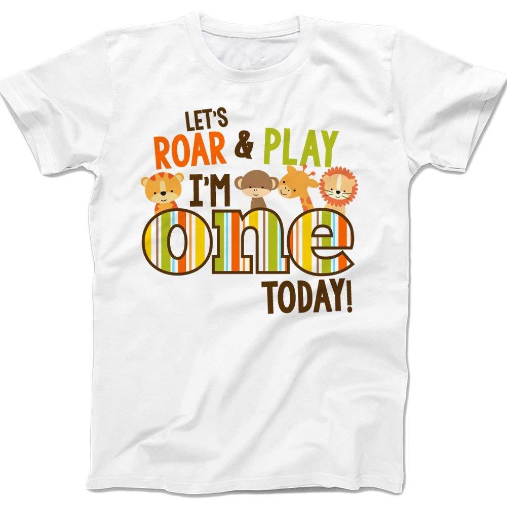 Buy Jungle Zoo Theme Second Birthday Shirt