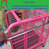 folding portable metal PVC coated pigeon bird chicken rabbit cages