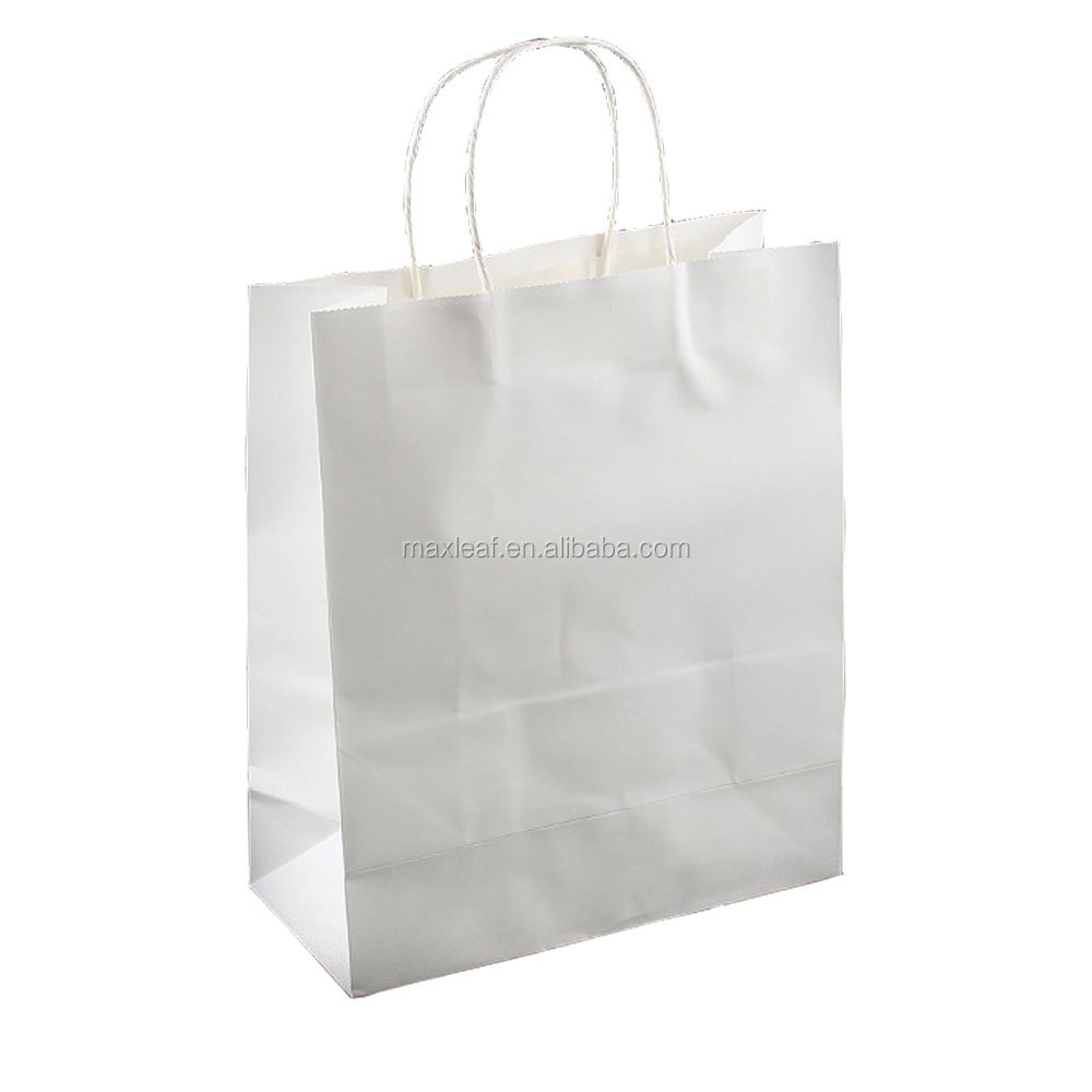 203*123*255mm Factory professional custom made medium size paper gift bag 10pcs as a <strong>pack</strong>
