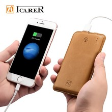 ICARER 8000mah power bank with ce fc rohs