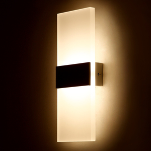 Indoor Acrylic aluminium Led Wall Light for bed room