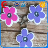 wholesale soft pvc reflective material zipper pull for sale