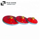 "Plastic Backing Pads Polishing Pads Holder with 5/8""-11 thread"