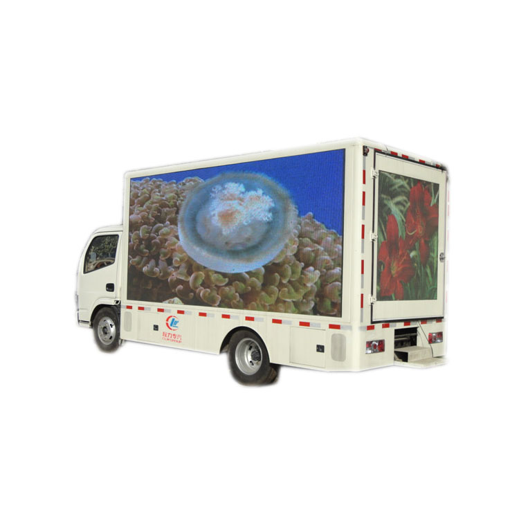 Foton 4*2 p6 bildschirm lifting mobile display billboards außenwerbung hydraulische bühne 24m2 led lkw