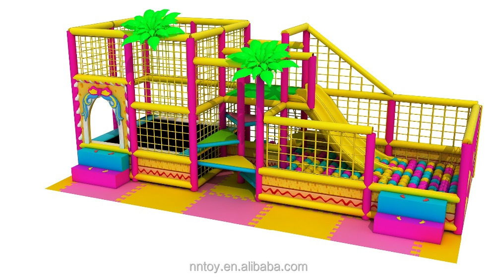 kids used indoor play equipment