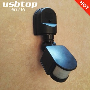 USBTOP BRAND Detector AC110V~240V Outdoor Motion Sensor Wall Light Lamp LED PIR Infrared Motion RF180 Degree Switch Sensor