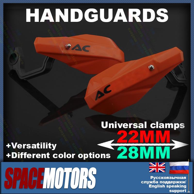 Оранжевый универсальный handguard для мотоцикл мотокросс руль ямы offroad байк KTM ехс SX MX XCR-W XC-W 125 150 200 300 250
