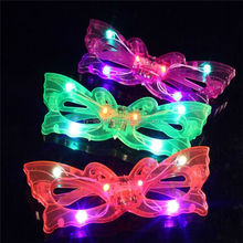 Christmas gift the glasses LED luminescent glasses fluorescent luminescence glasses funny tricky ball