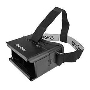 (Random Color) ColorCross Universal Google Virtual Reality 3D Glasses for Smartphone Cardboard Head Mount Games Movies / . ColorCross Universal Google Virtual Reality 3D Glasses for Smartphone Car