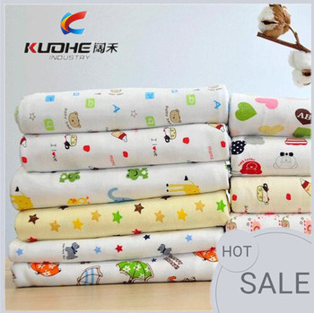 e6068ea32c Cartone animato tessuto biadesivo cotone pettinato bambini del fumetto  tessuto stampato tessuti a maglia Più modello
