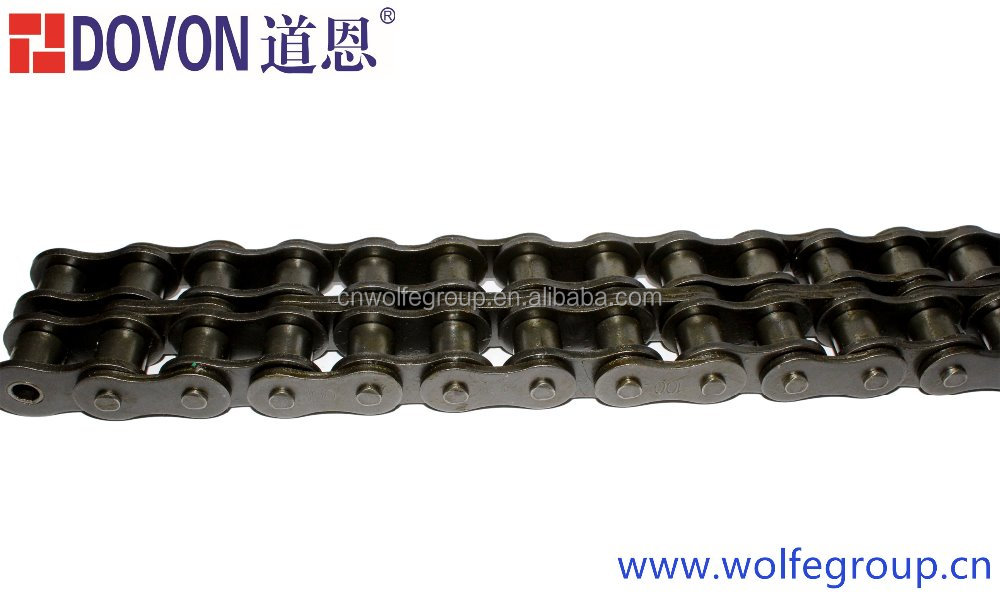 High precision double drive A CA S type short pitch steel harvester machinery chain