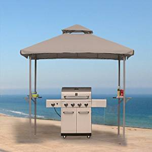 5 x 8 Grill Shelter Gazebo Replacement Canopy Top Cover