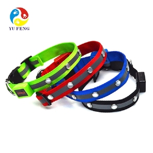 S / M / L size LED Pet Cat Dog LED Collar Safety Glow Necklace