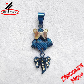 Jewelry factory delicate ip blue fish pendant buy fish pendant jewelry factory delicate ip blue fish pendant aloadofball Choice Image