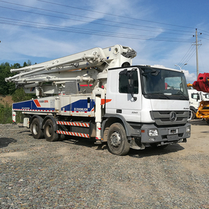 Hydraulic climbing boom concrete pump charge cement grouting on sale