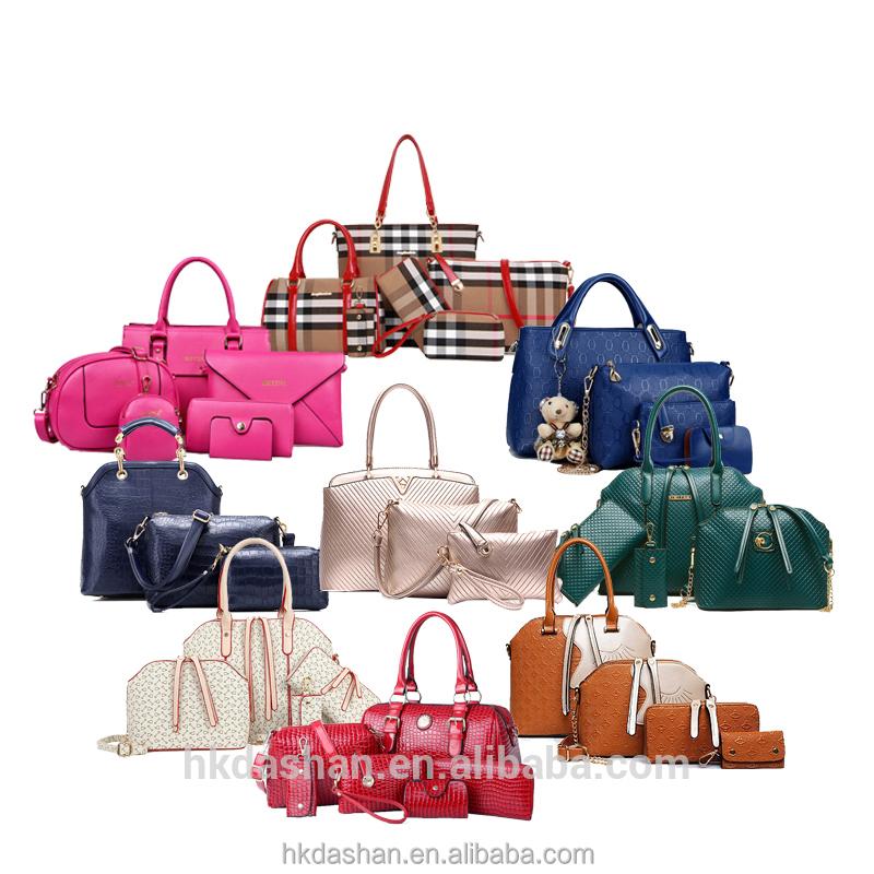 b6143e56757d ... Y61 Mode Hot Sale Mode Pu Kulit Wanita Tas Dalam Tas Set Wanita Tas Oem  Untuk  2018 Trend Fashion ...