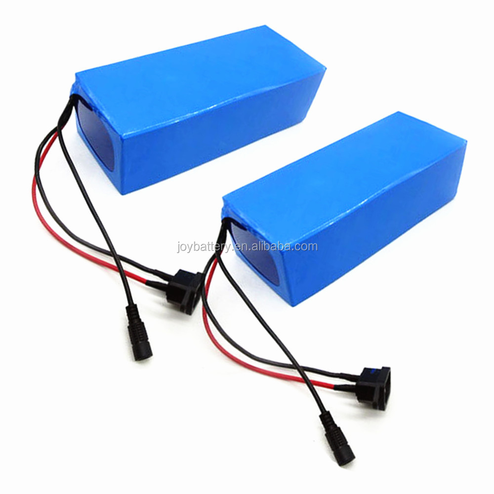 Customized 36V 10Ah 18650 10S5P rechargeable lithium ion battery pack with 2A charger
