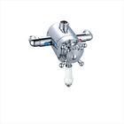 traditional single handle in-wall thermostatic concealed shower mixer faucet