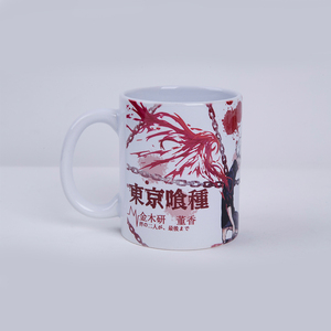 Anime Coffee Mug Tokyo Ghoul Cartoon Ceramic Milk Cup Indoor Hot Sale