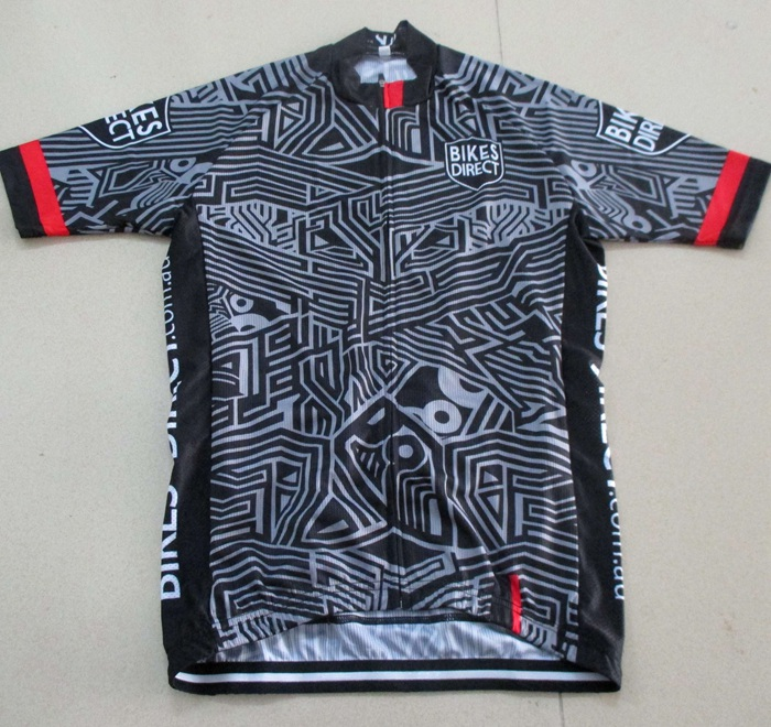 Professional cycling clothing set for bike team with lycra fabric as race cut on sales