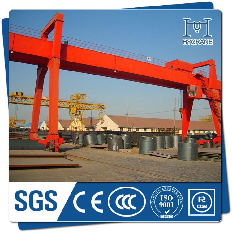 Top manufacturers product single beam 5ton hoist gantry crane