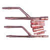 LG ARBLN07121 VRF Copper Refnet Pipes Joints Kits with insulation