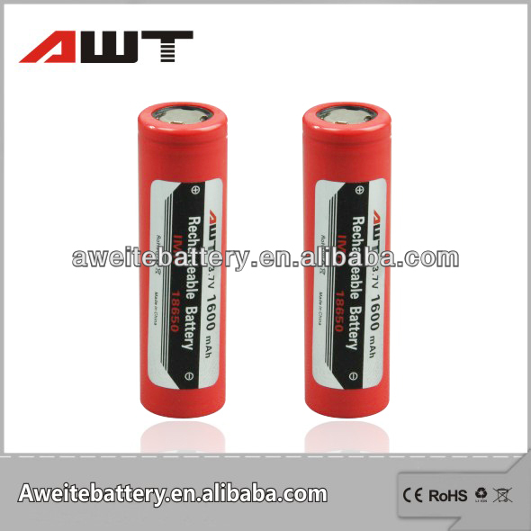 3.6v li-ion rechargeable battery lir2032/li-ion battery 18650 for flash light power tools