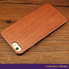Plain wood phone case for IPhone 7, wood pc phone mobile cases for IPhone 6