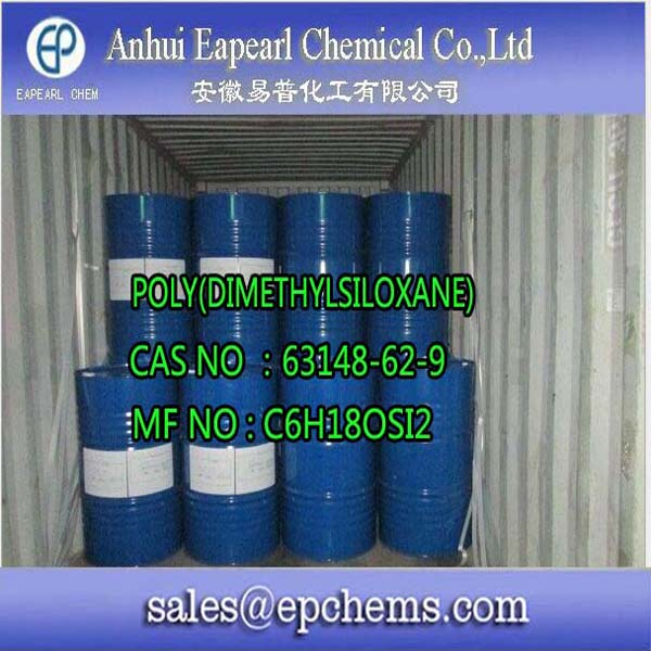 Polydimethylsiloxane chemical formula for leather table salt