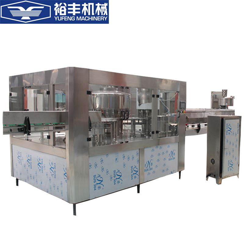 Big plastic bottle filling equipment and packing machine