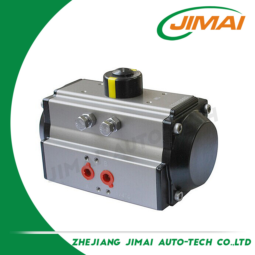 2 hours replied factory directly JIMAI JAT Quarter Turn Valve Actuator Pneumatic