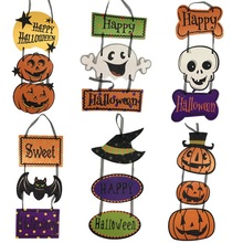 Pompoen Ghost Papier Hanger Props <span class=keywords><strong>Halloween</strong></span> Decoraties