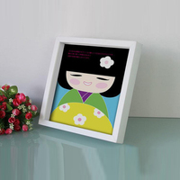Unique Square Wood Photo Picture Frame In Bulk 8x8 10x10 Inch /Cheap Deep Shadow Box Photo Picture Frame Wholesale