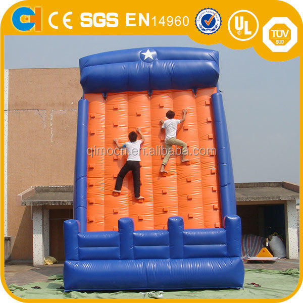Used Inflatable Rock Climbing Walls, Inflatable water rock climbing wall for Adults