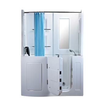 Hs B1106b Walk In Tub Shower Combo Shower Bath Combo