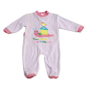 Cartoon Organic Cotton 2 Pack Footie Baby Toddler Clothes